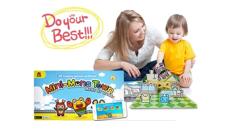 best education toys AR mini mons town