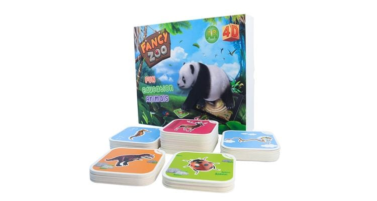 learnning toys AR animal cards